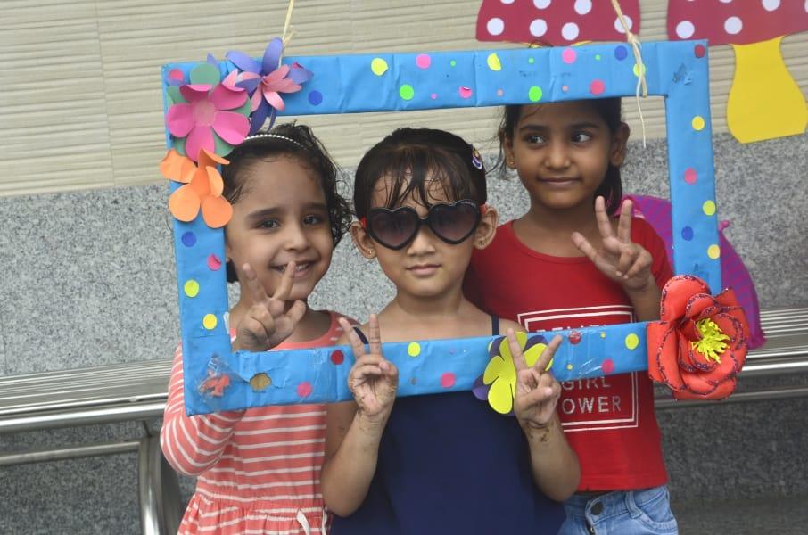 Rain Fiesta At Play Schools In Faridabad