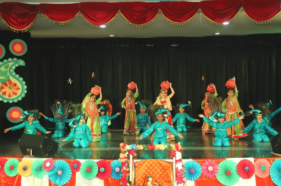 Janmashtami Celebration At Best Playschools In Faridabad