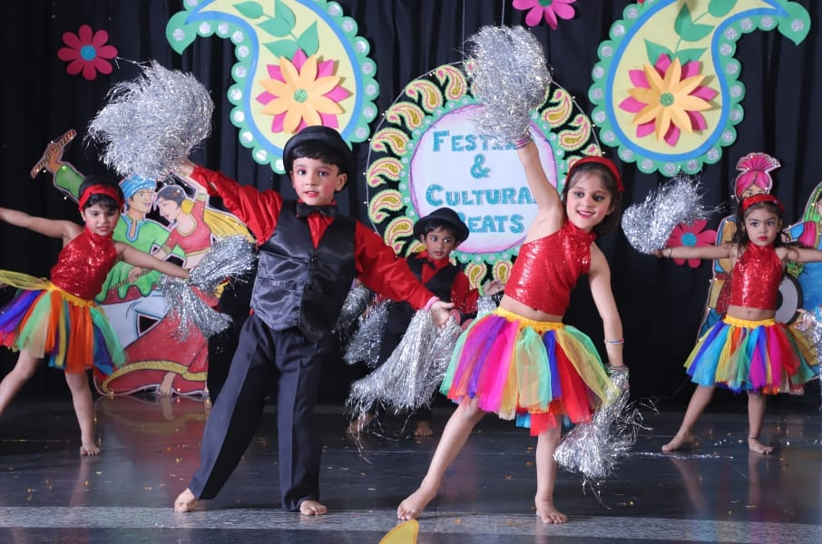 Festino And Cultural Beats At Best Play Schools In Faridabad